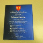 8 x 10 Braille Plaque