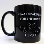 Braille Mugs minimum 36 mugs