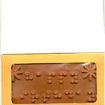 Candy Bar with Braille